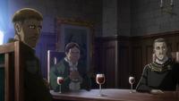 Die Adelingen besprechen Erwins Befragung