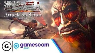 Attack on Titan (Working Title) Teaser Trailer - Gamescom 2015