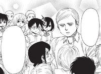 Erwin reconciles with his students