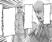 Floch asks the Training Corps to join the Yeagerists