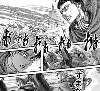 Levi apologizes to his comrades