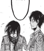 Mikasa sorgt sich um Eren Manga