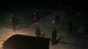 Kenny et ses hommes neutralisant Rhodes et sa ''famille''