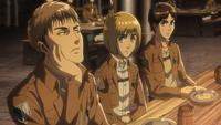 Jean beschwert sich über Erens Murmeln
