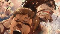 Ymir kills a Titan