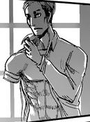Erwin sans son bras droit