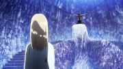 Historia faisant face à Eren