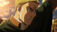 Erwin enjoys the crowd's enthusiasm