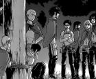 L'escouade découvre qu'Eren pourrait se faire dévorer contre son pouvoir de titan
