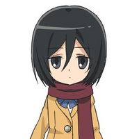 Mikasa Ackermann (Junior High Anime) character image