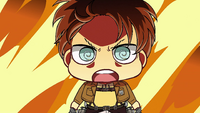 Eren vows to destroy the Colossal Titan