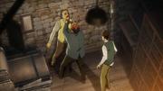 Flegel forçant Roy à révéler la vérité