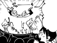 Hannes and Eren enjoy the circus