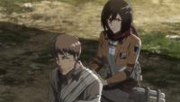 Mikasa bandages Jean