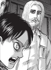 Sieg observe Eren après qu'il ait commis son crime