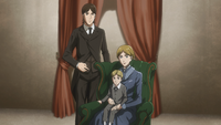 Grisha with his first family