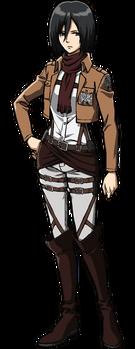 Mikasa's appearance