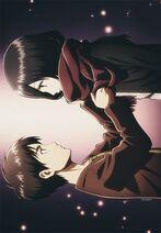 Mikasa and eren childhood