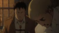 Nile informiert Erwin über seine Anhörung