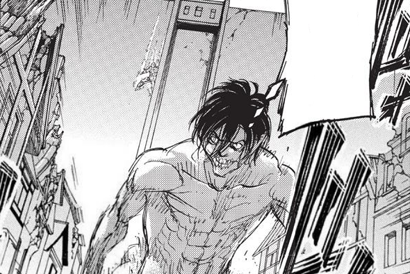 File:Armored Titan climbing down Wall Maria.png
