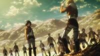 Annie vs Mikasa