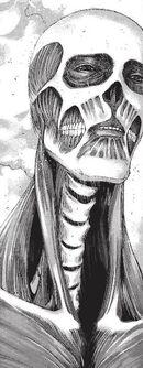 Armin's Colossus Titan's appearance