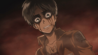 Eren inside a Titan's stomach