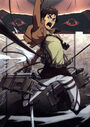 Attack on Titan Anime Blu-Ray DVD 1 Cover