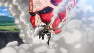 Eren vs Titan Colossal(2)