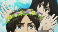 Eren and Mikasa play together