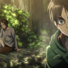 Eren es secuestrado junto a Ymir.