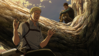 Reiner is confused between soldier and warrior