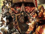 Attack on Titan: Teil 1 - Feuerroter Pfeil und Bogen