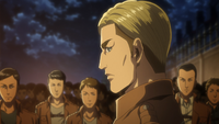 Erwin prepares to lead the Scouts
