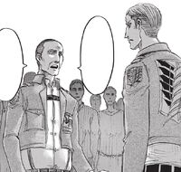 MP soldier accuses the Survey Corps