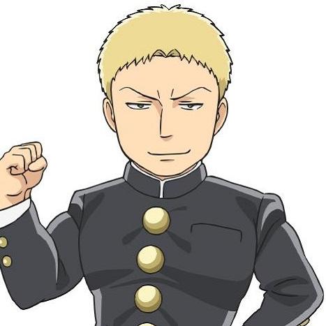 Reiner Braun Junior High Anime Attack On Titan Wiki Fandom