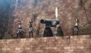 Canon muraille