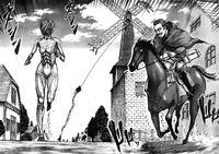 Il Gigante Femmina avanza