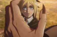 Ymir apologizes to Historia
