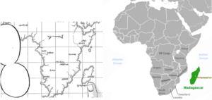Eldia and Paradis compared to Africa and Madagascar