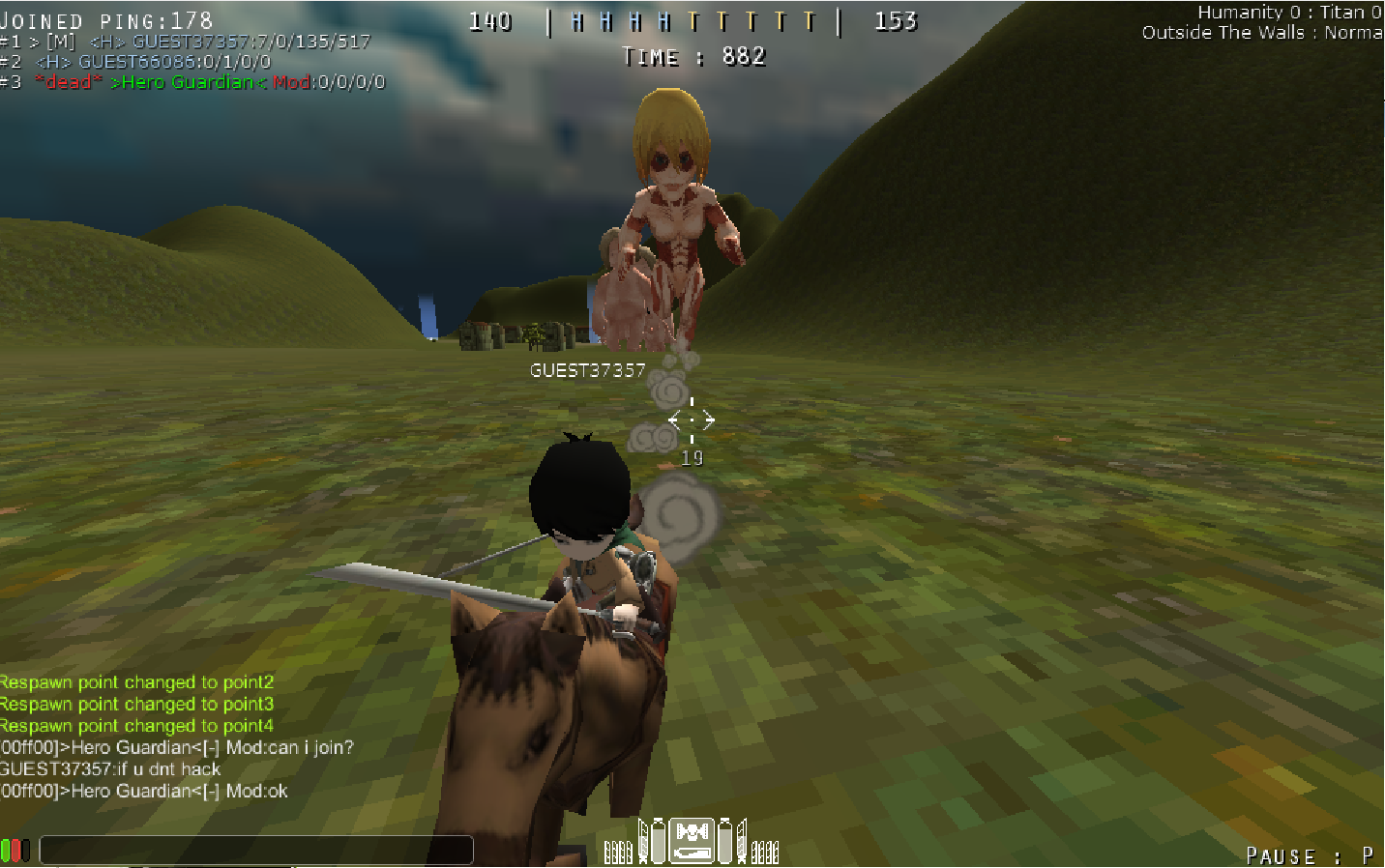 Attack on titan multiplayer pc game tribute + download link.