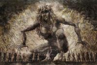 Ymir erhält die Kraft der Titanen