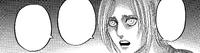 Annie talks to Mikasa