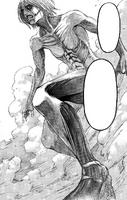 Female Titan's full body