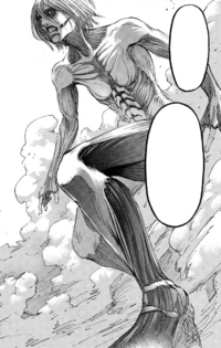 Female Titan's full body