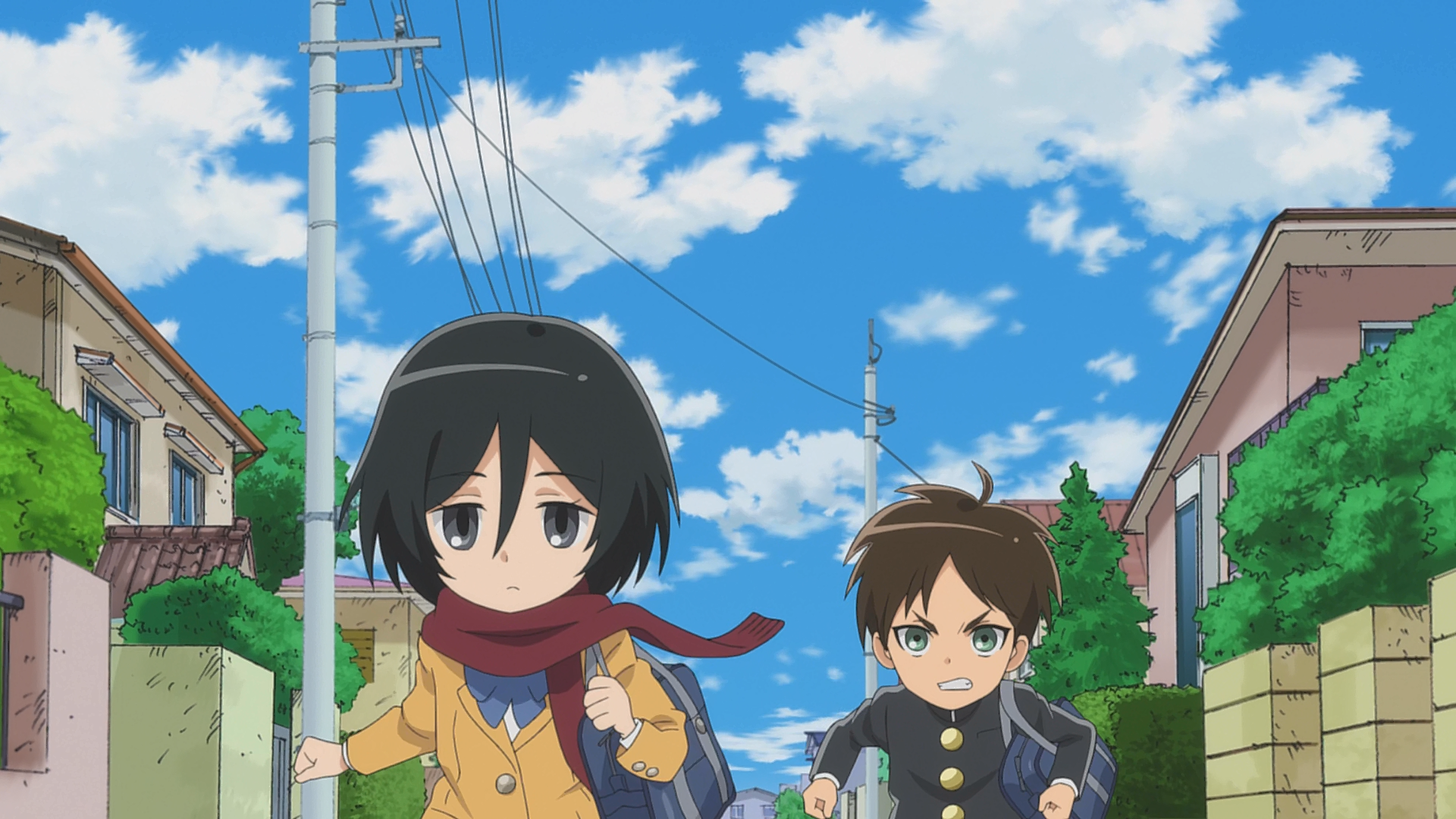 Mikasa Ackermann Junior High Anime Attack on Titan