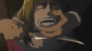 Alma est tuée par Kenny anime