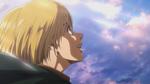 Armin delighted as he rides toward the sea