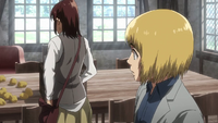 Armin spots a thief