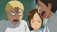 Bertholdt asks Reiner if they are acting now